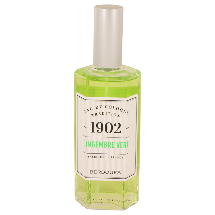 1902 Gingembre Vert by Berdoues - Eau De Cologne Spray (unboxed) 125 ml f. dömur