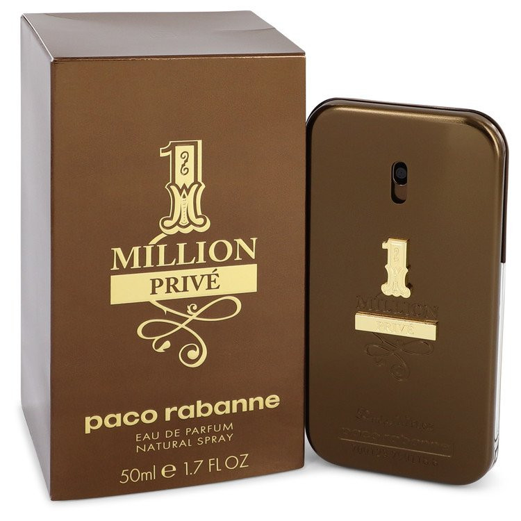 1 Million Prive by Paco Rabanne - Eau De Parfum Spray 50 ml f. herra