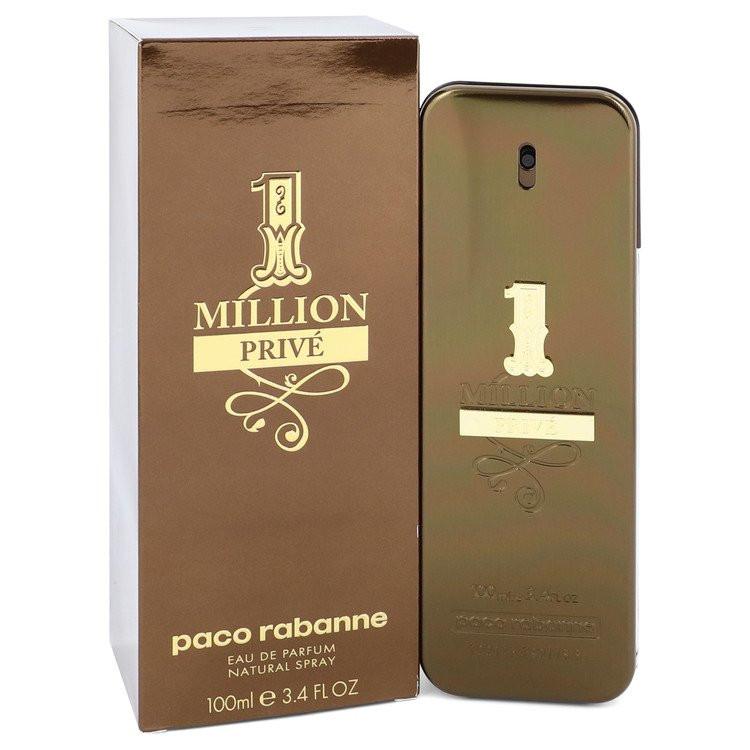 1 Million Prive by Paco Rabanne - Eau De Parfum Spray 100 ml f. herra