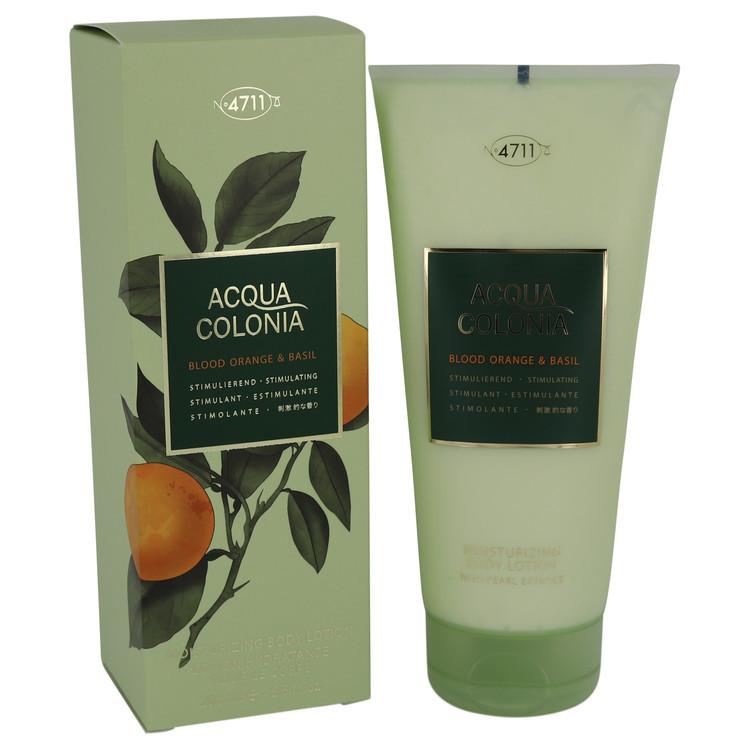 4711 Acqua Colonia Blood Orange & Basil by Maurer & Wirtz - Body Lotion 200 ml f. dömur
