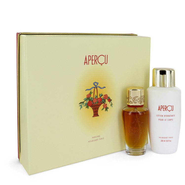 APERCU by Houbigant - Gjafasett - 1.7 oz Eau De Toilette Spray + 6.7 oz Body Lotion f. dömur