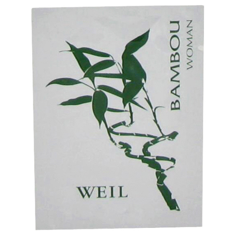 BAMBOU by Weil - Perfume Wipes 2 ml f. dömur