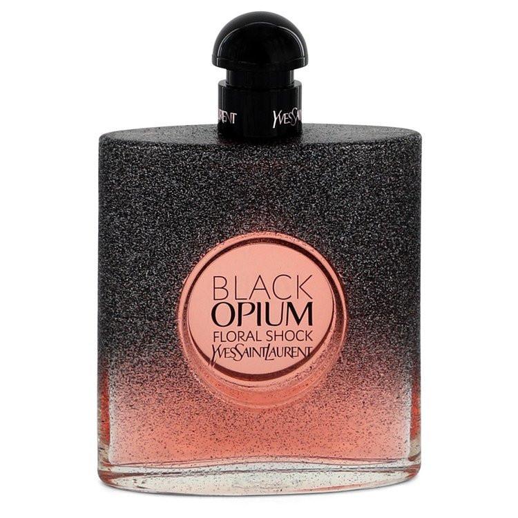 Black Opium Floral Shock by Yves Saint Laurent - Eau De Parfum Spray (Tester) 90 ml f. dömur