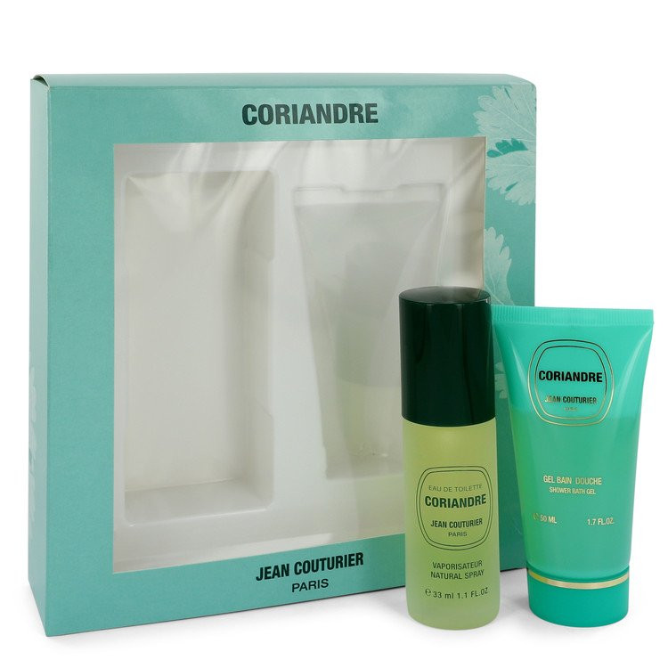 CORIANDRE by Jean Couturier - Gjafasett - 1.1 oz Eau De Toilette Spray + 1.7 oz Shower  Gel f. dömur
