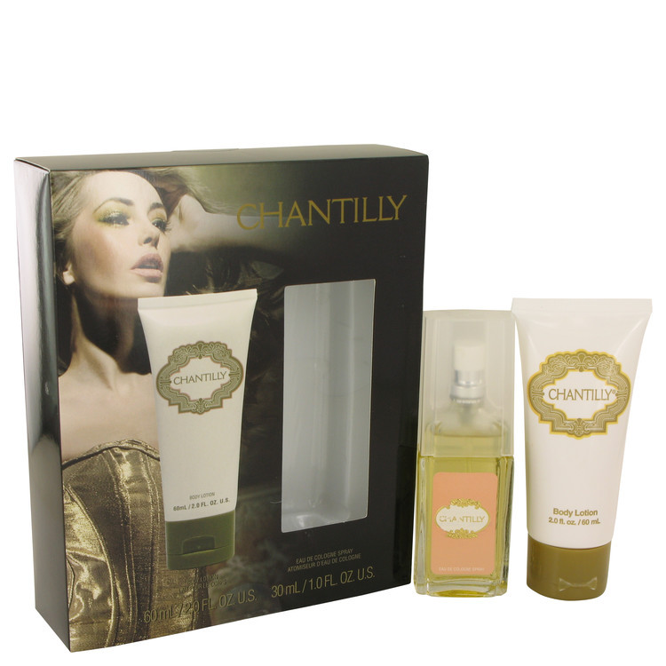 CHANTILLY by Dana - Gjafasett - 1 oz Eau De Cologne Spray + 2 oz Body Lotion f. dömur