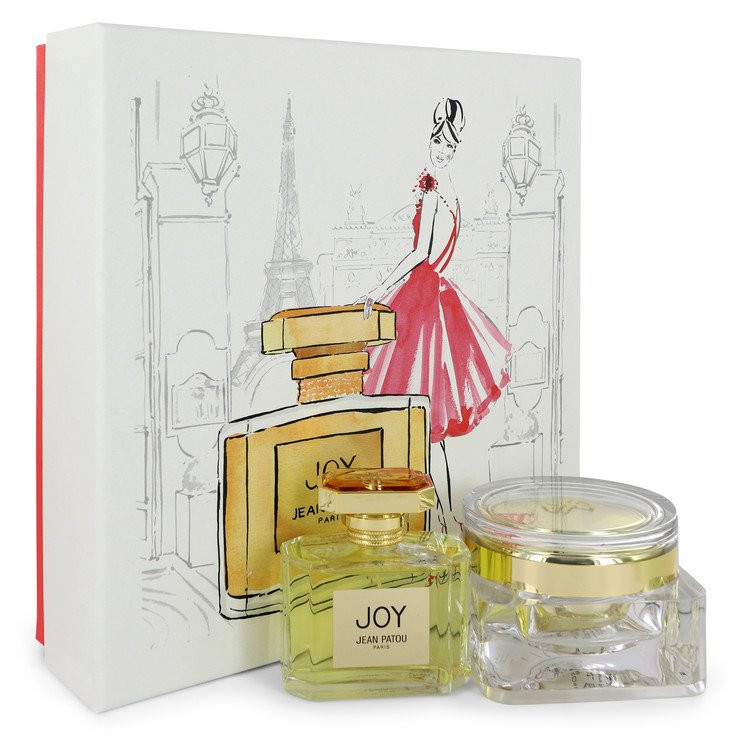 JOY by Jean Patou - Gjafasett - 2.5 oz Eau De Parfum Spray + 3.4 oz Body Cream f. dömur