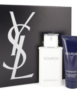 KOUROS by Yves Saint Laurent - Gjafasett - 3.3 oz Eau De Toilette Spray + 3.3 oz Shower Gel f. herra