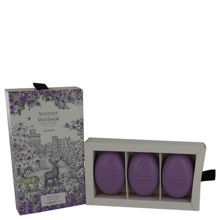 Lavender by Woods of Windsor - Fine English Soap 3 x 60 g f. dömur