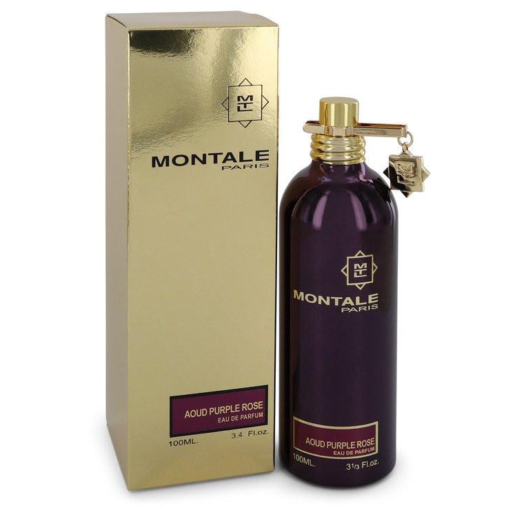 Montale Aoud Purple Rose by Montale - Eau De Parfum Spray (Unisex) 100 ml f. dömur
