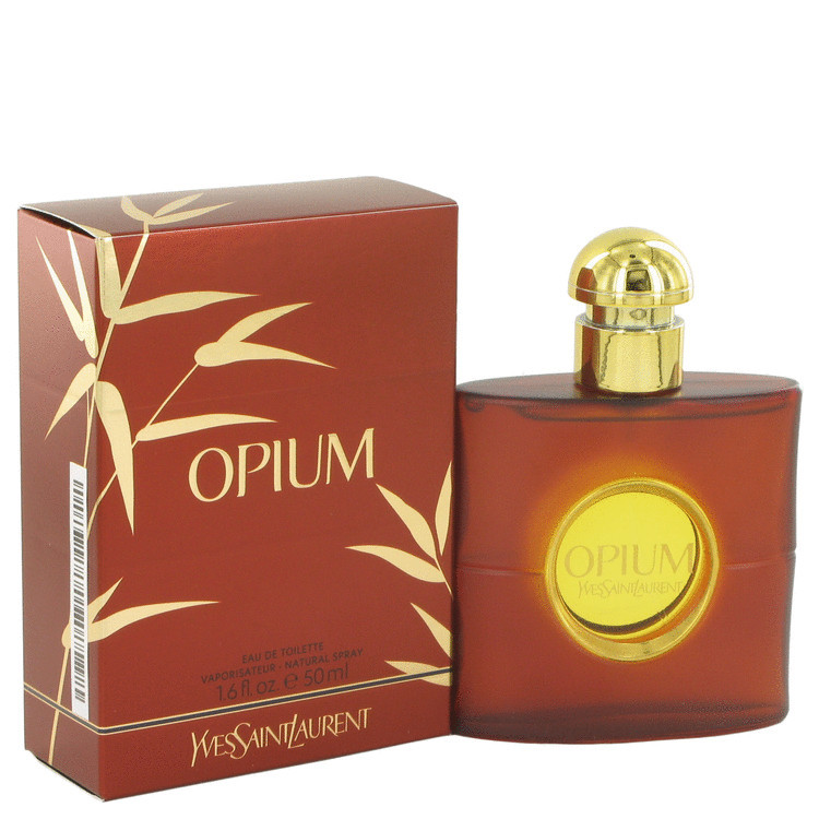 OPIUM by Yves Saint Laurent - Eau De Toilette Spray (New Packaging) 50 ml f. dömur