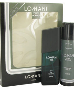 LOMANI by Lomani - Gjafasett - 3.4 oz Eau De Toilette Spray + 6.7 oz Deodorant Spray f. herra