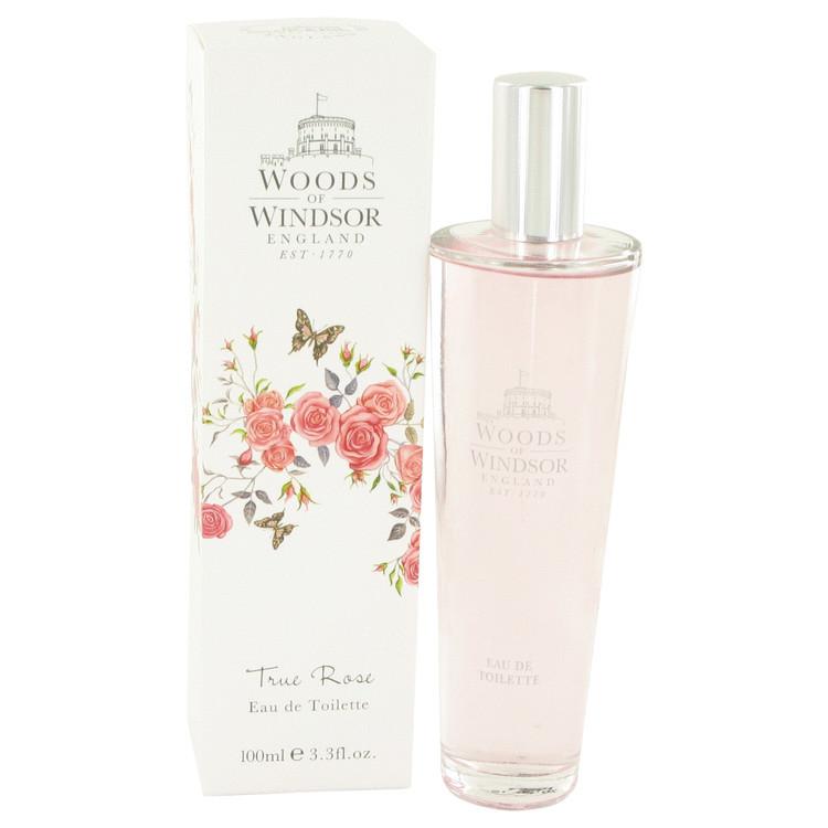 True Rose by Woods of Windsor - Eau De Toilette Spray 100 ml f. dömur
