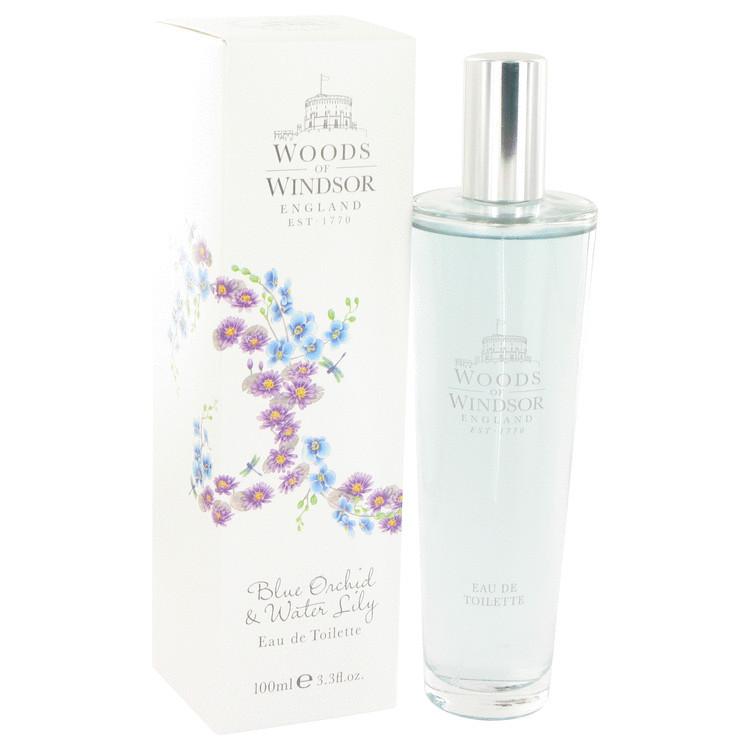 Blue Orchid & Water Lily by Woods of Windsor - Eau De Toilette Spray 100 ml f. dömur