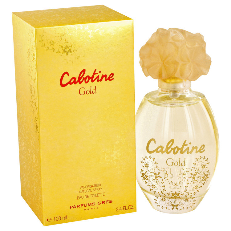 Cabotine Gold by Parfums Gres - Eau De Toilette Spray 100 ml f. dömur