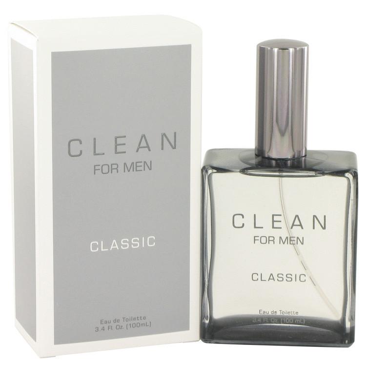 Clean Men by Clean - Eau De Toilette Spray 100 ml f. herra