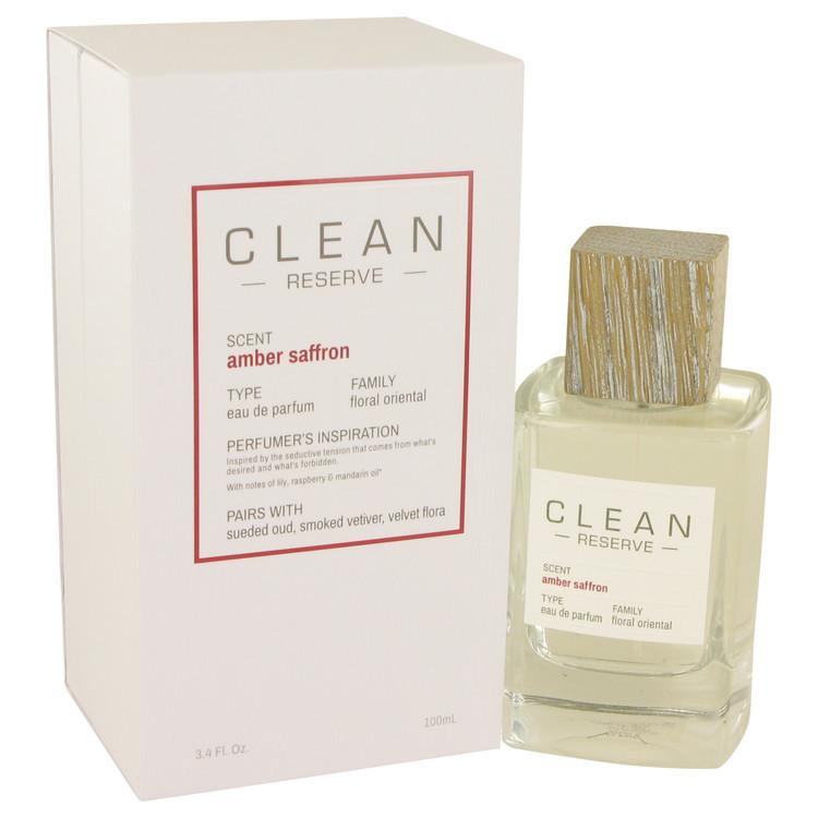 Clean Amber Saffron by Clean - Eau De Parfum Spray 100 ml f. dömur