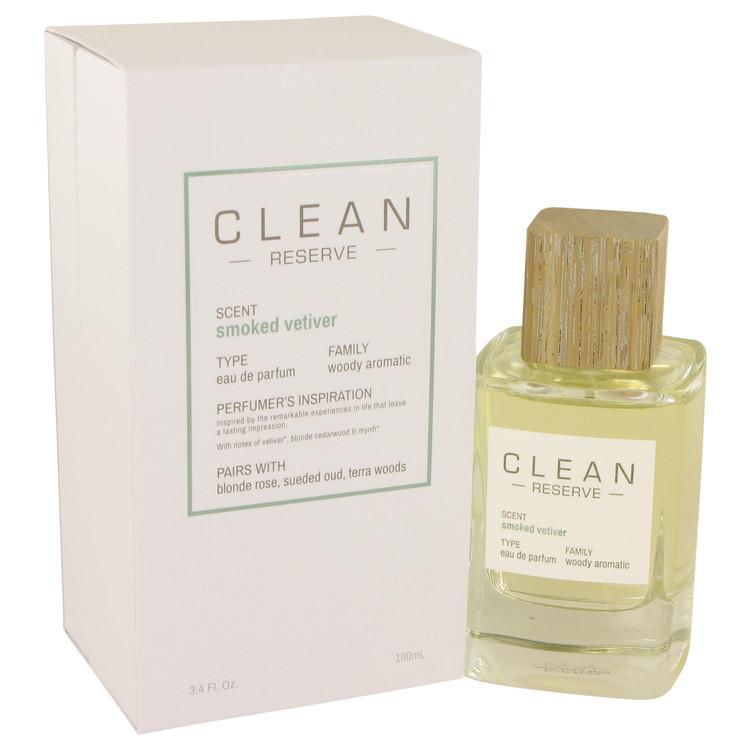 Clean Smoked Vetiver by Clean - Eau De Parfum Spray 100 ml f. dömur