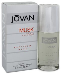 Jovan Platinum Musk by Jovan - Cologne Spray 90 ml f. herra