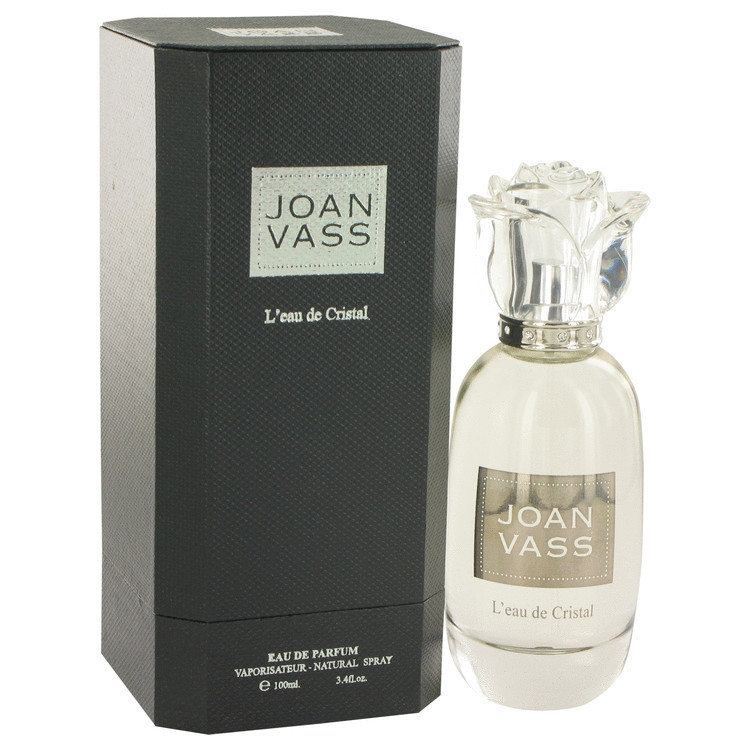 L'eau De Cristal by Joan Vass - Eau De Parfum Spray 100 ml f. dömur