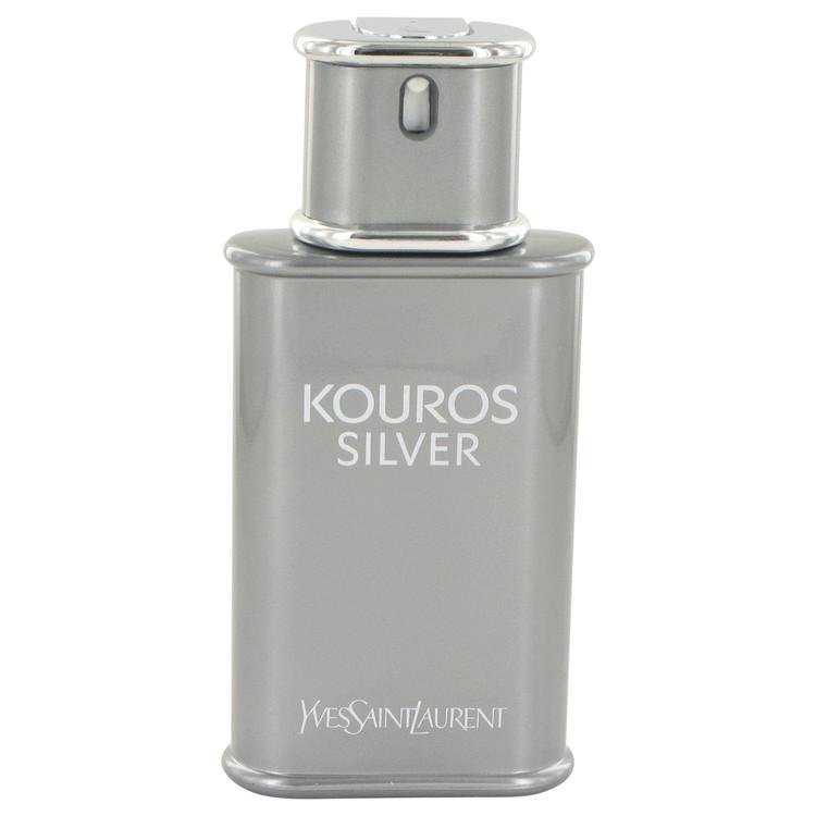 Kouros Silver by Yves Saint Laurent - Eau De Toilette Spray (Tester) 100 ml f. herra