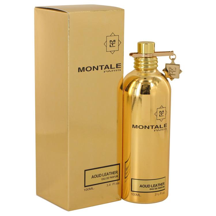 Montale Aoud Leather by Montale - Eau De Parfum Spray (Unisex) 100 ml f. dömur