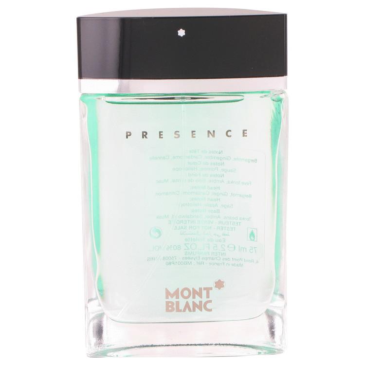 Presence by Mont Blanc - Eau De Toilette Spray (Tester) 75 ml f. herra