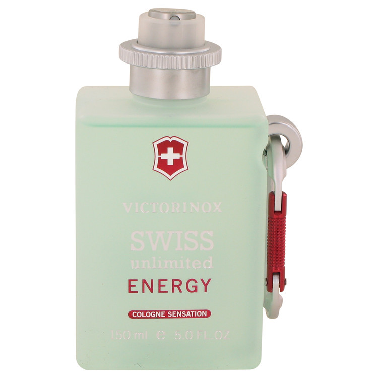 Swiss Unlimited Energy by Victorinox - Cologne Spray (Tester) 150 ml f. herra