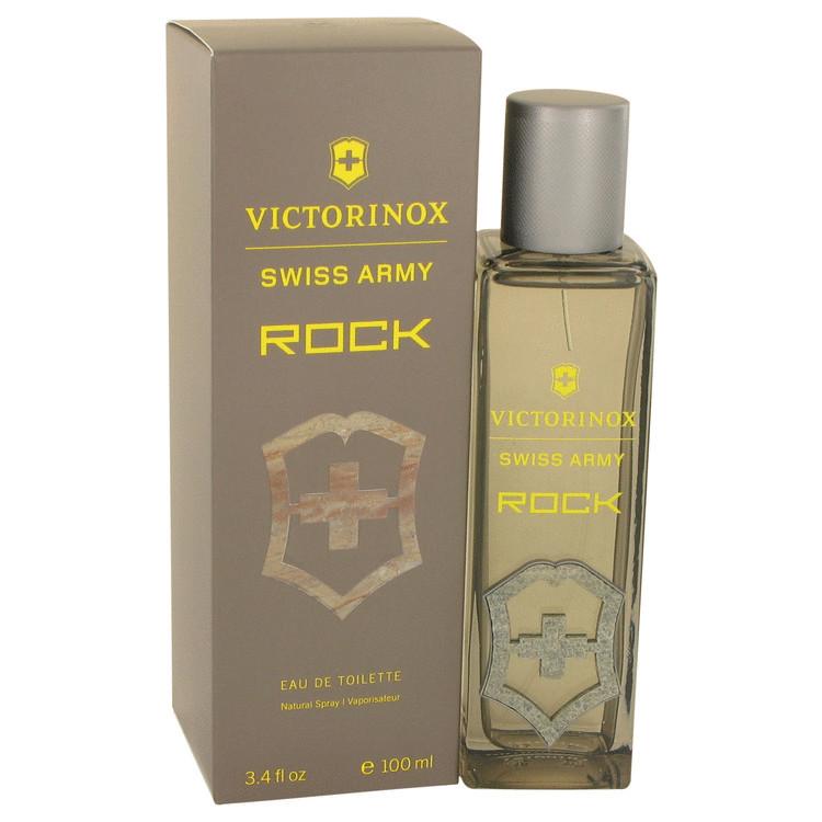 Swiss Army Rock by Victorinox - Eau De Toilette Spray 100 ml f. herra