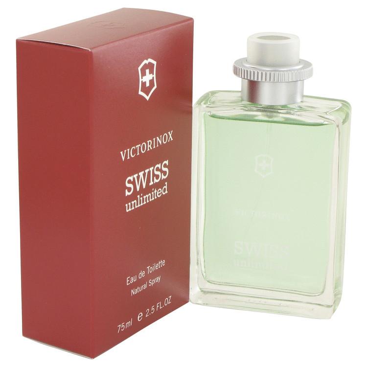 Swiss Unlimited by Victorinox - Eau De Toilette Spray 75 ml f. herra