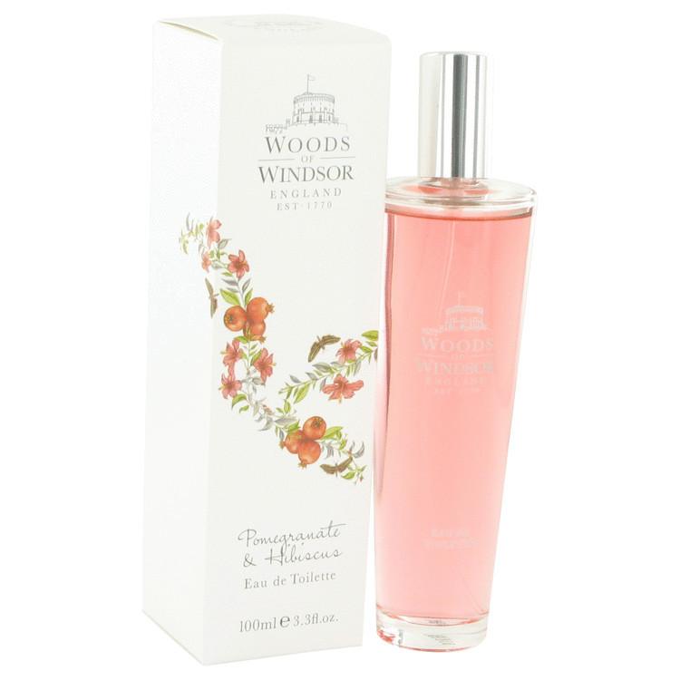 Pomegranate & Hibiscus by Woods of Windsor - Eau De Toilette Spray 100 ml f. dömur