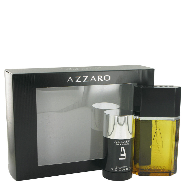 AZZARO by Azzaro - Gjafasett - 3.4 oz Eau De Toilette Spray + 2.2 oz Deodorant Stick f. herra