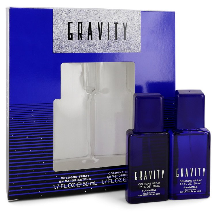 GRAVITY by Coty - Gjafasett - Two 1.7 oz Cologne Sprays f. herra